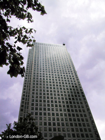 Canary Wharf tower, 1 Canada Square
