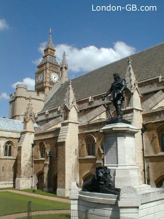 Oliver Cromwell and the Houses of Parliament
