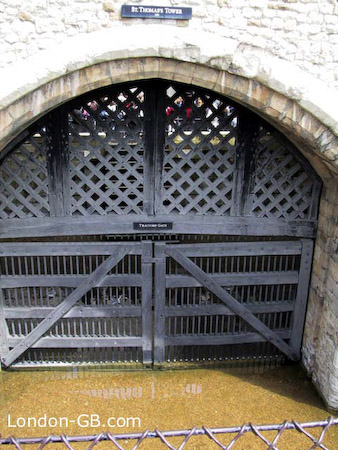 Tower of London Traitors' Gate